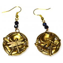 Antique Gold Brass Zen...