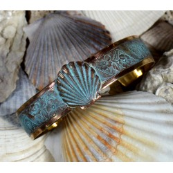 Patina Scallop Shell Cuff...
