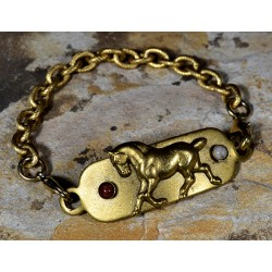 Antiqued Gold Brass Show...