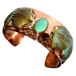 Copper and Patina Brass...