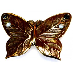 Mirror Brass Butterfly...