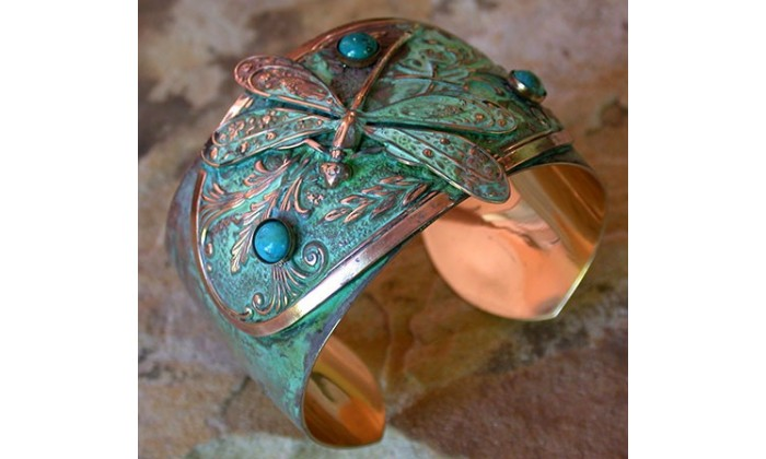 nature motifs wearable art jewelry by Elaine Coyne