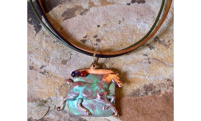 Equestrian Motif Jewelry by Elaine Coyne Galleries