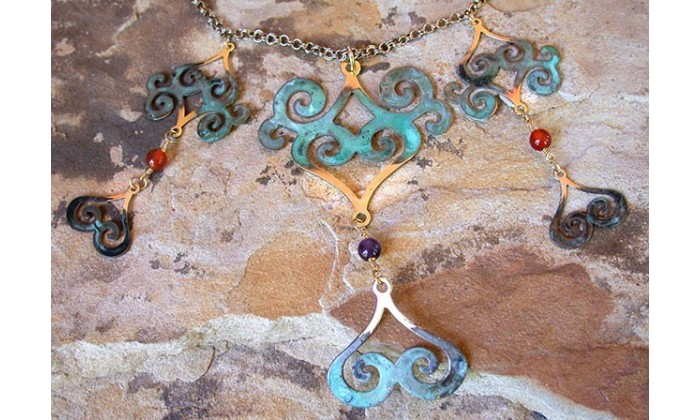 Bauhaus Collectible Art Jewelry by Elaine Coyne