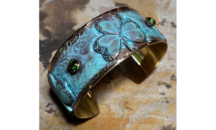 Shamrock Jewelry by Elaine Coyne