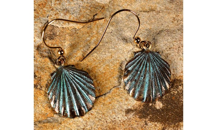 Oceania Earrings by Elaine Coyne Galleries
